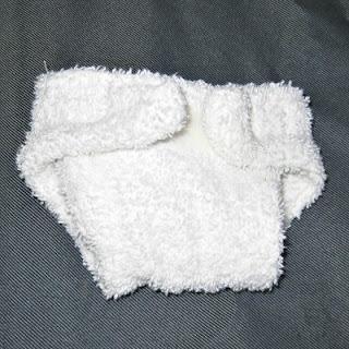 Dolls nappy recycled fabrics
