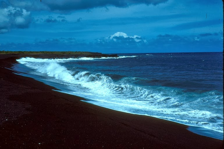 15 most beautiful black sand beaches around the world Black sand beach hawaii