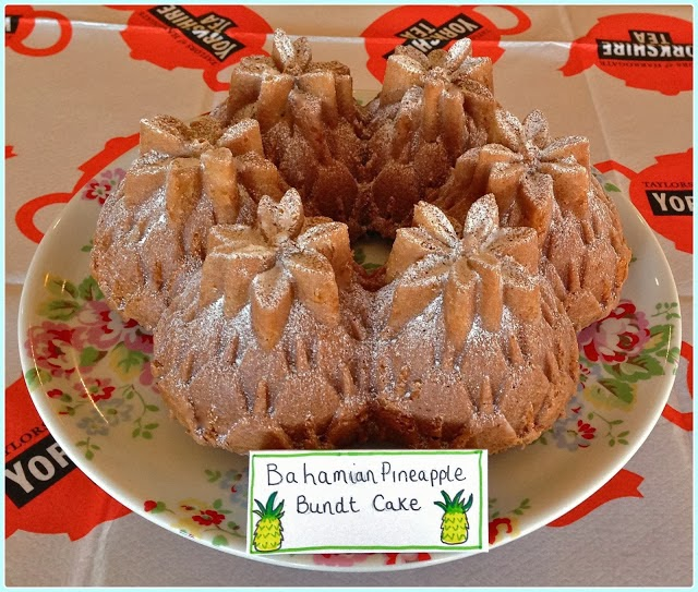 Pineapple Bundt