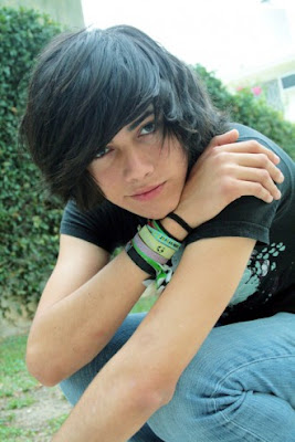 Emo hairstyles for boys 2012
