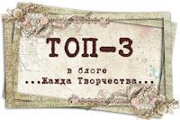 Моя работа в ТОП-3