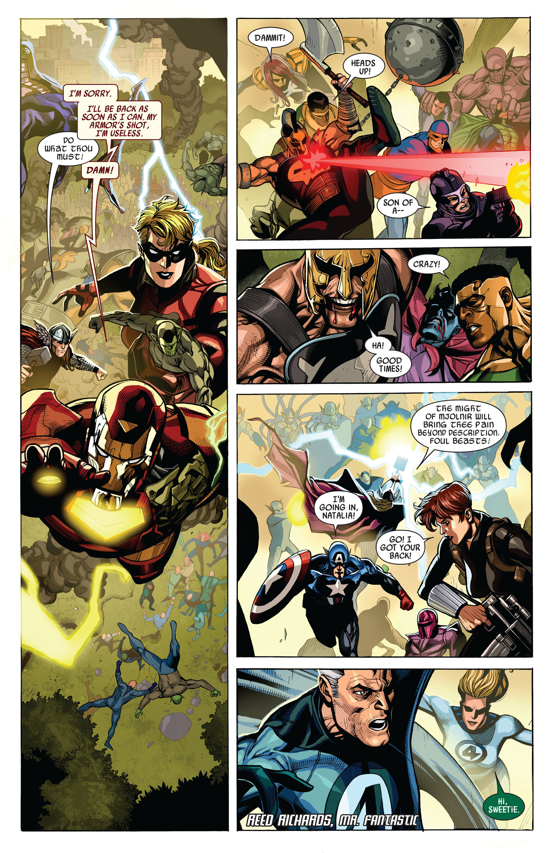 Read online Secret Invasion comic -  Issue #7 - 9