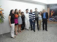 Estudiantes de la UNAH y la UNICAH