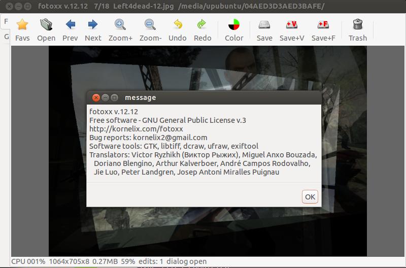 Fotoxx Allows Now To Create False Color Images Ubuntu Linux Mint