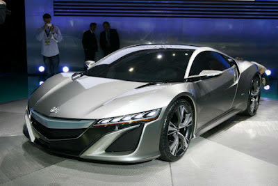 2012 Acura NSX Review