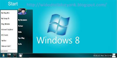 Bloger Template Windows 8