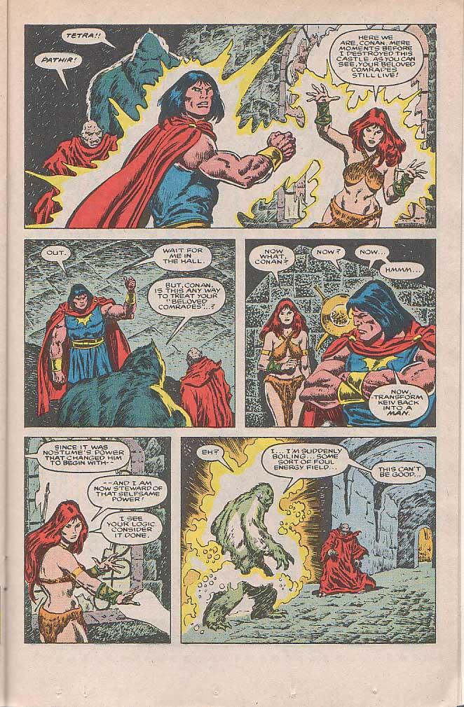 Conan the Barbarian (1970) Issue #185 #197 - English 16