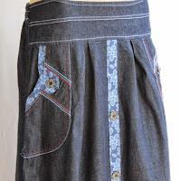 Skirt Jeans Murah RM326-3