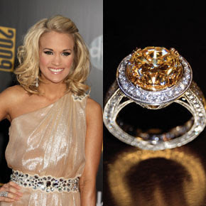 Yellow Diamond: Engage Carrie Underwood