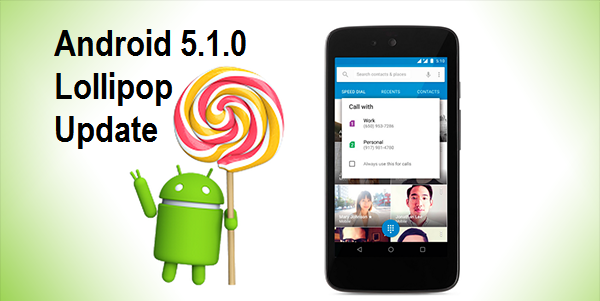 Download & Install Android Lollipop 5.1.0 for Nexus 5, 6, 7, 10 & Nexus Player
