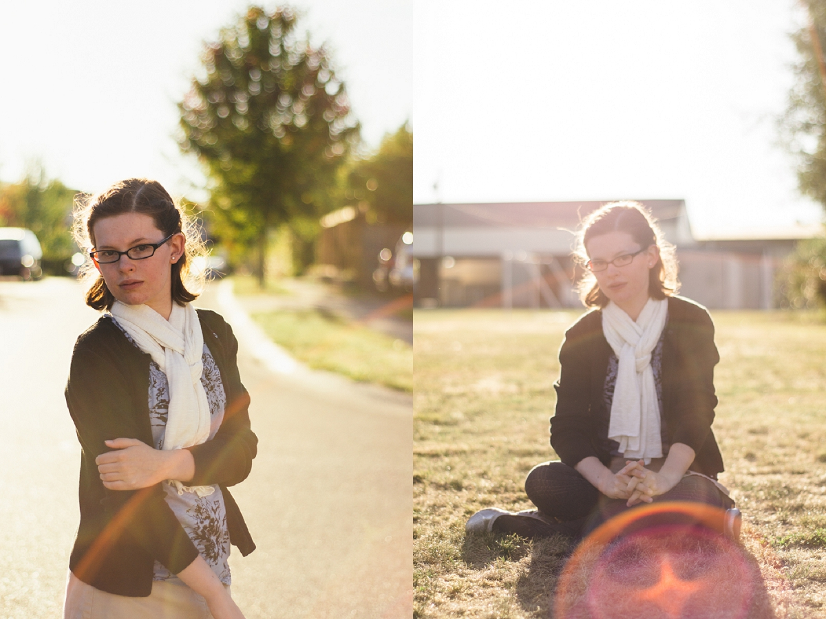 Portraits taken by Morgan Elise Photography || Ribbons Down My Back