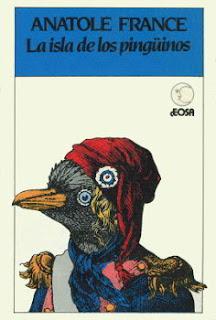 Portada del libro La isla de los pingüinos para descargar en pdf gratis