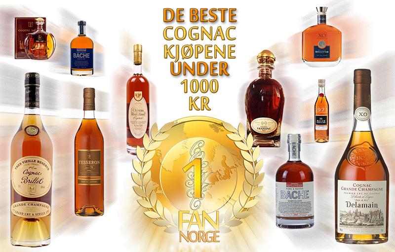 Vinmonopolet prisliste konjakk