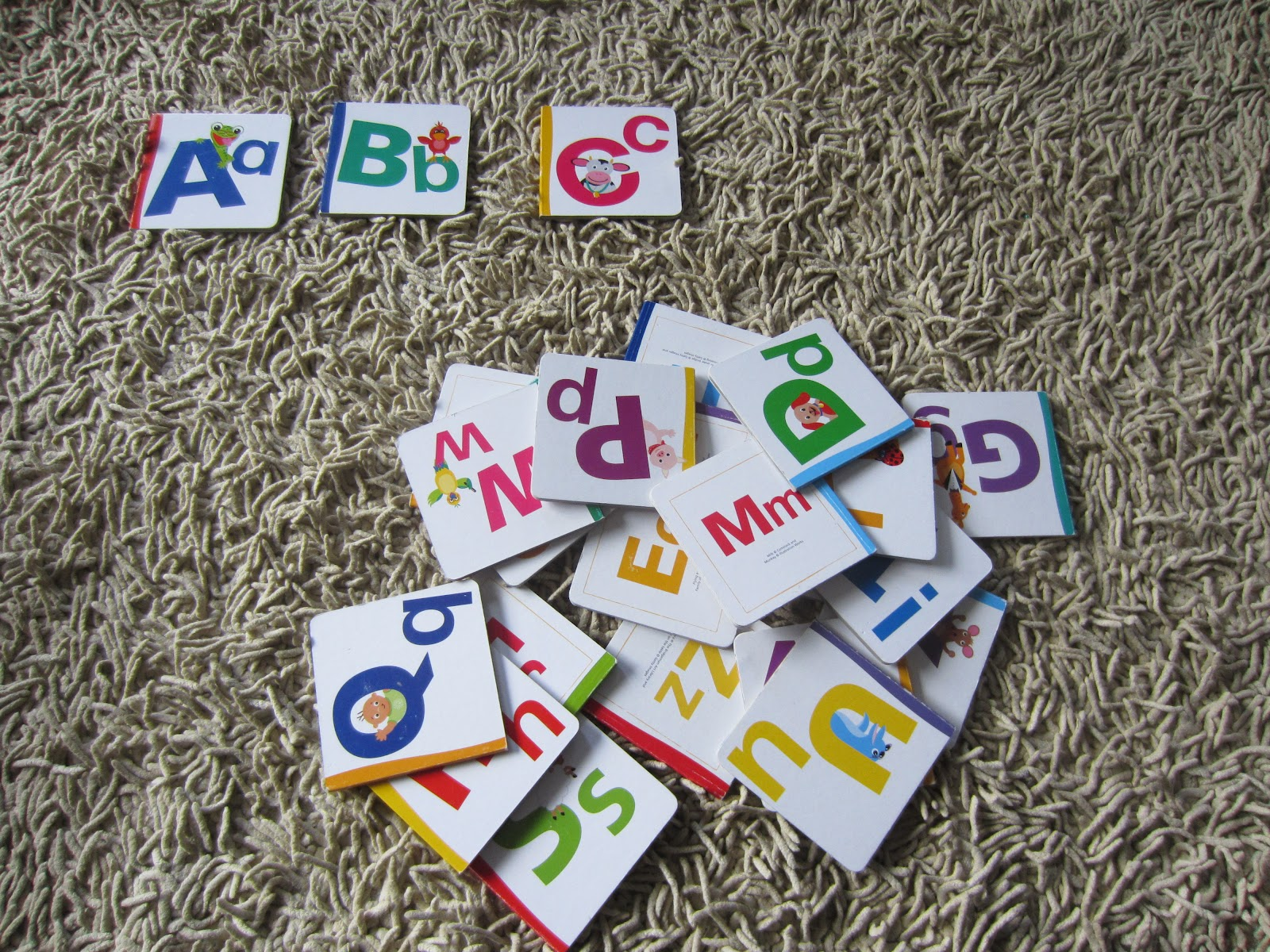 Learn With Play At Home Alphabet Order Game