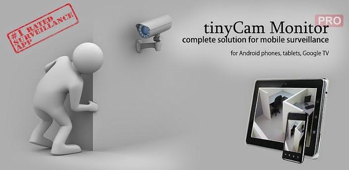 tinyCam Monitor Pro v5.4.3 Apk Download IP Cam