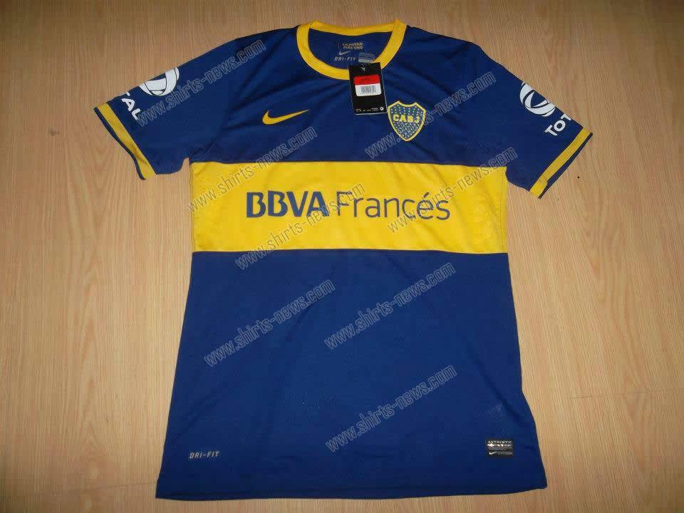 Camisetas  Boca Juniors 2013/14 [Filtrada]