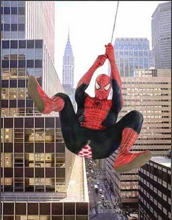 Gambar Lucu DP Blackberry DP BB Spiderman Celana Robek