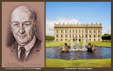 Stoker Cavendish. 12th Duke of Devonshire. Chatsworth House. by Travis Simpkins