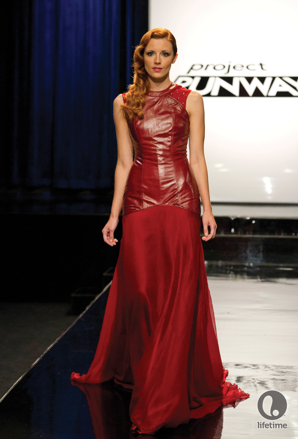 Red Dress Fit And Flare