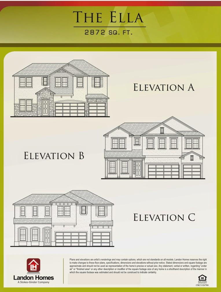 Landon Homes Featuring The 39 Ella 39 Floor Plan Benton