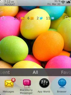 Theme Telur Paskah Untuk BlackBerry