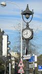 L'horloge du passage à niveau