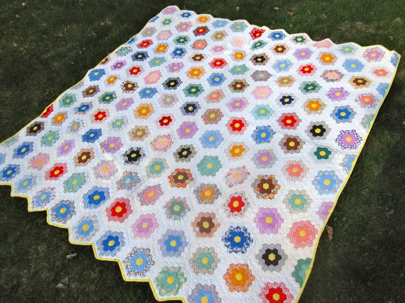 Canton Village Quilt Works Vintage Grandmother 39 S Flower Garden