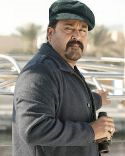 Mohanlal with hat