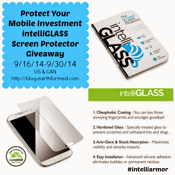 Enter the intelliGlass Screen Protector Giveaway. Ends 9/30.
