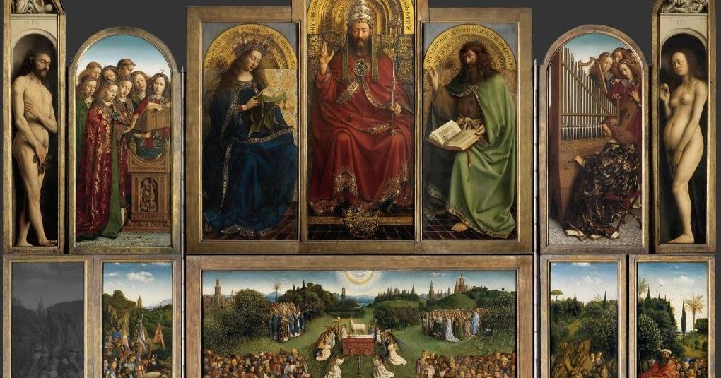 ghent altarpiece reflection