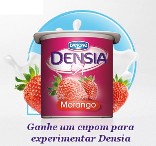 Amostra Gratis Iogurte Densia da Danone (400g)
