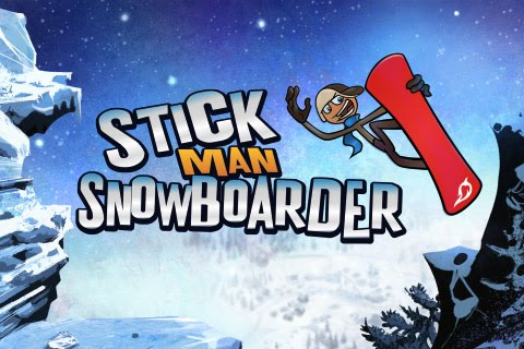 Stickman Snowboarder Free App Game By Traction Games