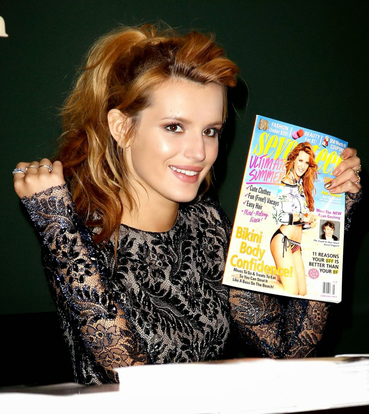 Bella Thorne - Showing Her Hot Legs in Seventeen Magazine Event in New York