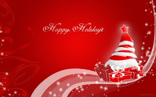 Free Download Christmas Happy Holiday Wallpaper