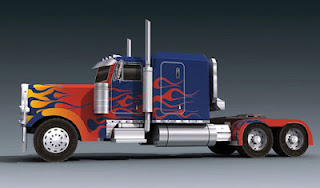 Menggambar mobil Transformers