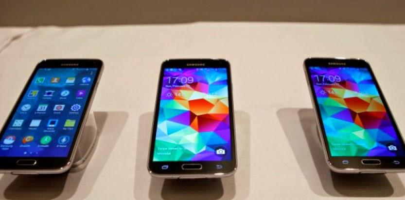Samsung nouveau smartphone vedette Galaxy S5