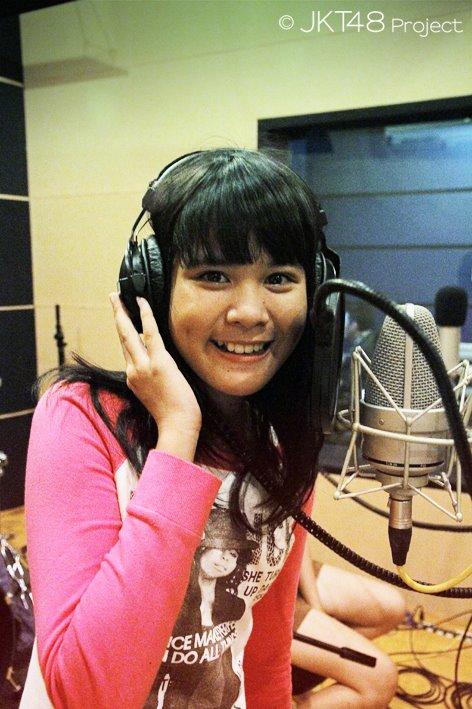 Delima JKT48 recording sesion