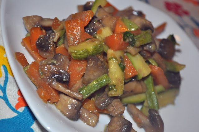 verdure trifolate alle acciughe