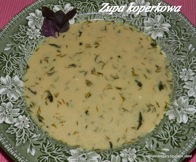 Zupa koperkowa - najprostsza