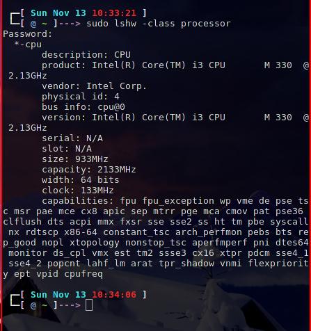 linuxandlife.com how to check hardware info