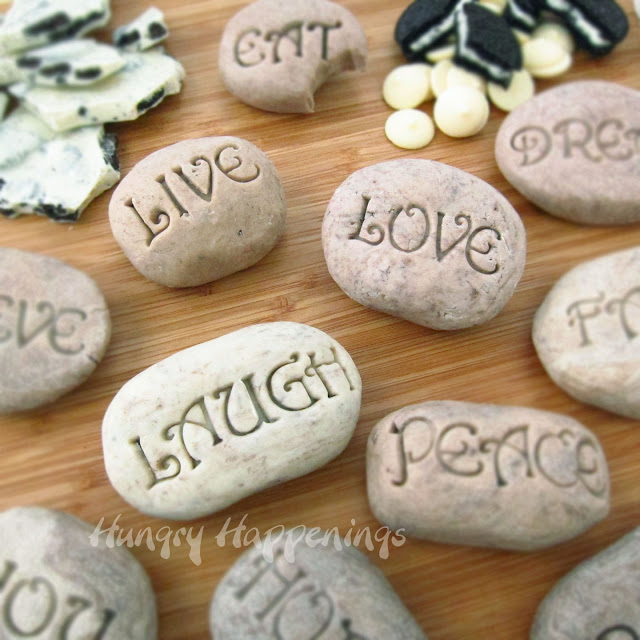 Sweet serenity stones yes another edible rock project for Crafts using stones