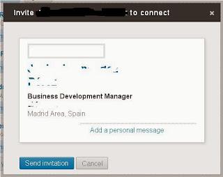 La mayoría de usuarios en LinkedIn no personalizan el mensaje de conexión