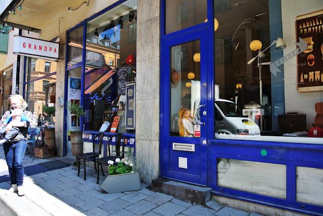 Grandpa vintage shop Stockholm