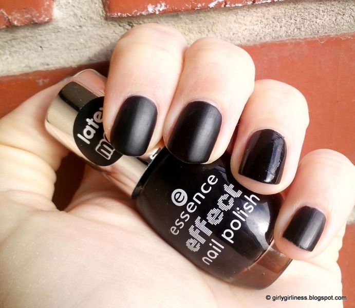 essence matt black cat