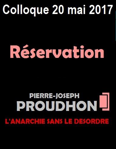 Réservez votre place pour le colloque Proudhon