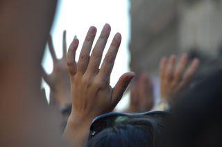 Las manos de la vistoria