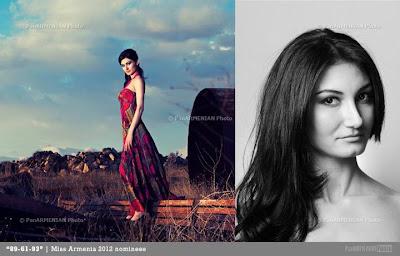 Miss Armenia Hayastan Միսս Հայաստան 2012 Anna Alikhanyan