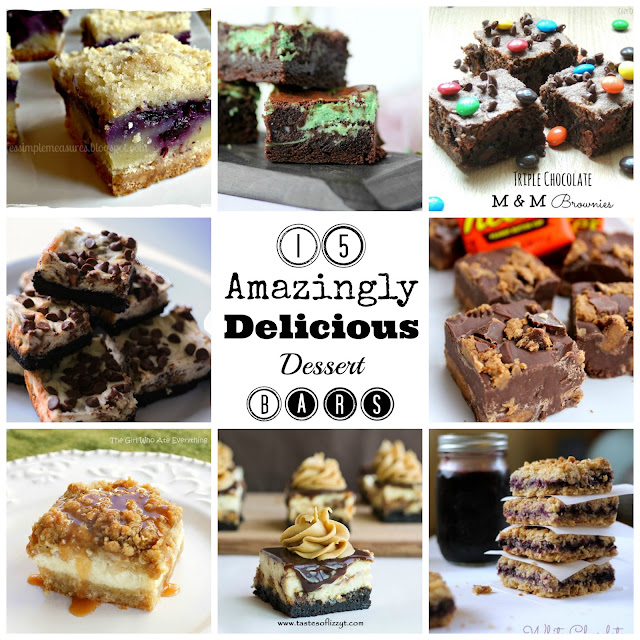 15 Amazingly Delicious Dessert Bars