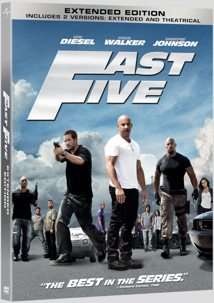 Fast Five Blu Raydvd Cover Art Details And Release Date Alien