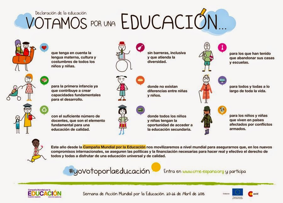 Semana de acci n mundial por la educaci n for Concurso docentes exterior